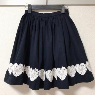 ハートイー(Heart E)のHeartE スカート(ひざ丈スカート)