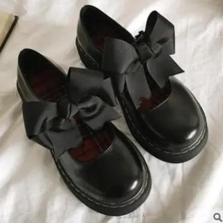 カスタネ(Kastane)のローファー リボン付き パンプス 厚底(ローファー/革靴)
