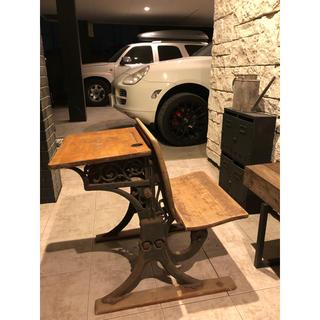 アンティーク ライティング ビューロ 机 テーブル(コーヒーテーブル/サイドテーブル)