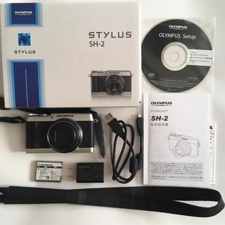 オリンパス(OLYMPUS)のオリンパス STYLUS SH-2 シルバー(コンパクトデジタルカメラ)