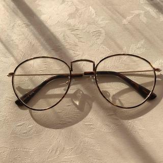 ゴゴシング(GOGOSING)の丸型伊達眼鏡💓(サングラス/メガネ)