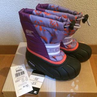 ソレル(SOREL)の新品・未使用☆ソレル キッズ スノーブーツ 14.0cm(ブーツ)