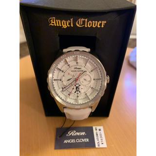 エンジェルクローバー(Angel Clover)の新品 エンジェルクローバー ROL45SWH-WH Roenコラボレーション(腕時計(アナログ))