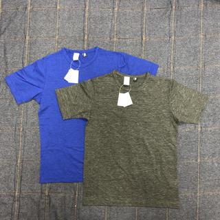 ジムマスター(GYM MASTER)のジムマスター Tシャツ2枚セット(青・グレー) 新品(Tシャツ/カットソー(半袖/袖なし))