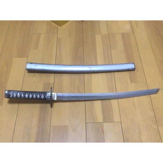 アルミ刀 模造刀 銀 小刀(武具)