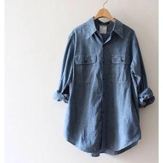 マディソンブルー(MADISONBLUE)のmadison blue 定番デニムシャツ(シャツ/ブラウス(長袖/七分))