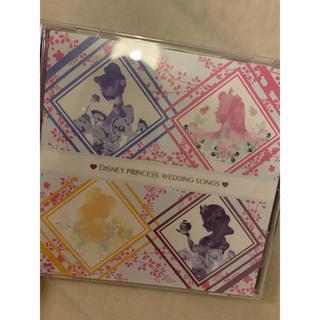ディズニー(Disney)のディズニープリンセス ウェディングソングス アルバム CD(ポップス/ロック(邦楽))