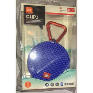 JBL CLIP2 Bluetoothスピーカー ブルー 新品(スピーカー)