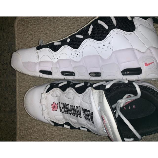 NIKE(ナイキ)のエアモアマネー NIKE AIR MORE MONEY WHITE メンズの靴/シューズ(スニーカー)の商品写真
