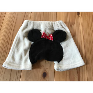 ディズニー(Disney)のミニーちゃんのモコモコショートパンツ(パンツ)