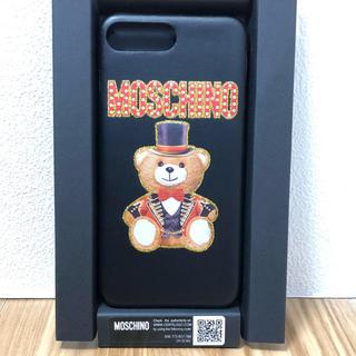 d3b9c9b755 モスキーノ(MOSCHINO)のプラス モスキーノ ✴︎Moschino☆テディベア iPhoneケース(iPhoneケース