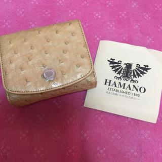 ハマノヒカクコウゲイ(濱野皮革工藝/HAMANO)のハマノ オーストリッチ 財布(財布)
