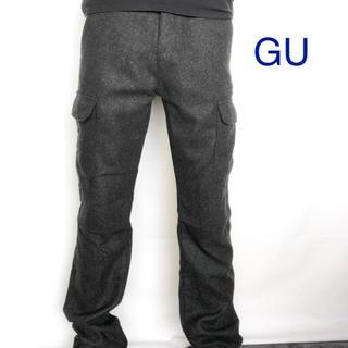 ジーユー(GU)のジーユー ツィードカーゴパンツ(ワークパンツ/カーゴパンツ)