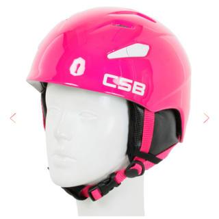 ☆新品☆CSB ジュニア スキー スノーボード ヘルメット(アクセサリー)