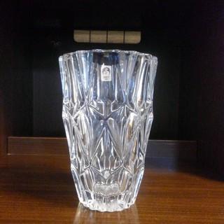トウヨウササキガラス(東洋佐々木ガラス)のササキクリスタル 花瓶【日本製】(花瓶)