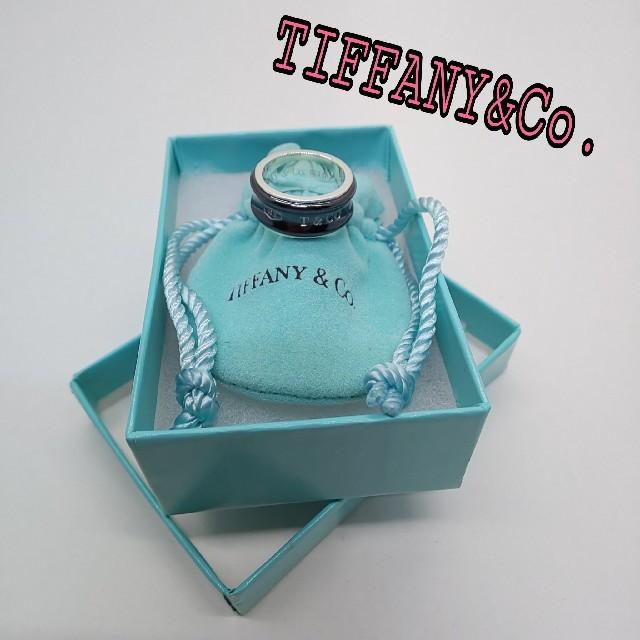 Tiffany & Co.(ティファニー)のTiffany ティファニー 指輪 チタン レディースのアクセサリー(リング(指輪))の商品写真