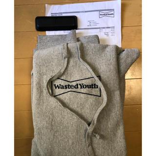シュプリーム(Supreme)のwasted youth logo hoodie  (パーカー)