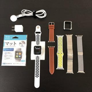 アップルウォッチ(Apple Watch)の 【RISSEI様専用】 Apple Watch  series3 38mm (スマートフォン本体)