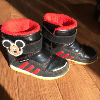 アディダス(adidas)のadidasミッキーブーツ14cm ディズニーアディダス(ブーツ)