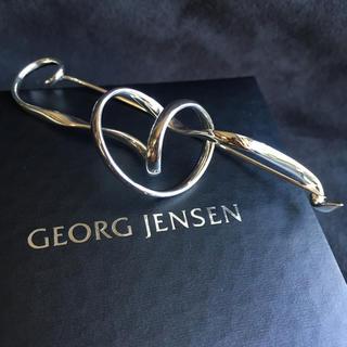 ジョージジェンセン(Georg Jensen)の未使用 Georg Jensen ブローチ フォーゲット・ミー・ノット(ブローチ/コサージュ)