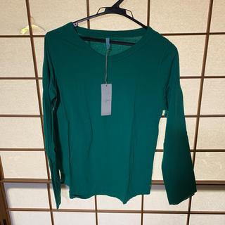 グリーン(green)のグリーン  トップス(カットソー(長袖/七分))
