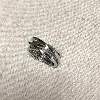 専用です★新品🔸イタリア製 シルバー×18金 リング 15号(リング(指輪))