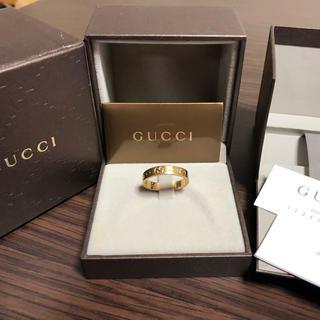グッチ(Gucci)のGUCCI アイコンリング 希少(リング(指輪))