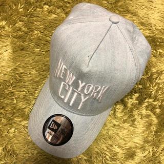 エヌワイシー(NYC)のNYCデニムキャップ(キャップ)