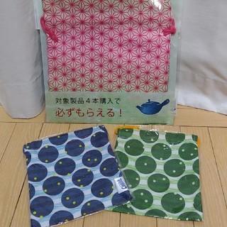コカコーラ(コカ・コーラ)の巾着3枚セット⭐コカコーラ☆綾鷹⭐クーリッシュ☆mashu KYOTO(日用品/生活雑貨)