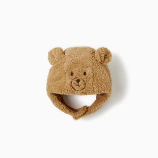 ザラ(ZARA)のZARABABY 新品 クマさんニット帽(帽子)