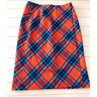 オールドイングランド(OLD ENGLAND)のオールドイングランド ウールスカート(ひざ丈スカート)