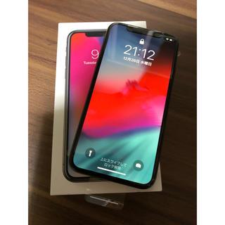 アイフォーン(iPhone)のiPhone X 256GB スペースグレイ SIMフリー(スマートフォン本体)
