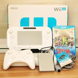 WiiUベーシックセット8GB+ハードディスク500GB+ソフト&周辺機器セット(家庭用ゲーム機本体)