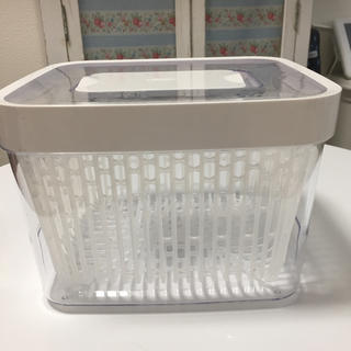 キスキス(XOXO)の1月まで!OXO 野菜保存容器 グリーンセーバー フードキーパー 4.0L (容器)