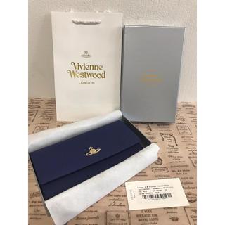 ヴィヴィアンウエストウッド(Vivienne Westwood)の大人気♡ヴィヴィアンウエストウッド長財布♡ブルー(財布)
