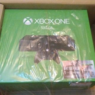 エックスボックス(Xbox)の送料無料 Xbox one bf1同梱版本体 新品未開封(家庭用ゲーム本体)