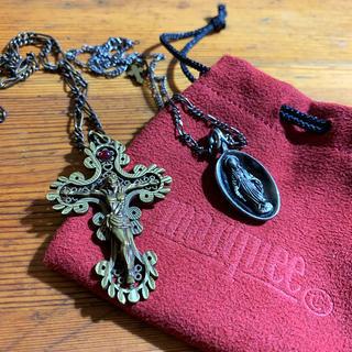 アンプジャパン(amp japan)のmarquee キリスト十字架・スプーンマリアネックレス2点(ネックレス)