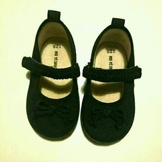 コムサイズム(COMME CA ISM)の美品コムサイズムキッズ靴(スニーカー)