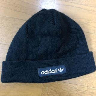 アディダス(adidas)のadidasオリジナル ほぼ新品 ニット帽(ニット帽/ビーニー)