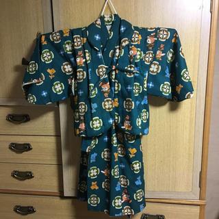 男の子 訪問着 昭和 レトロ リメイク(和服/着物)