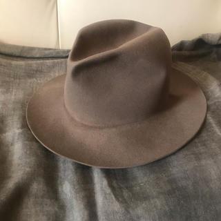 クール(coeur)のkijima takayuki ビーバー フェルト ハット 帽子(ハット)