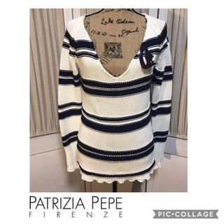 パトリツィアペペ(PATRIZIA PEPE)のPATRIZIA PEPE パトリツィアぺぺ ニット サイズ42 イタリア製(ニット/セーター)