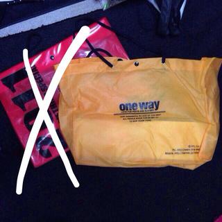 ワンウェイ(one*way)のoneway♡ショップ袋(ショップ袋)