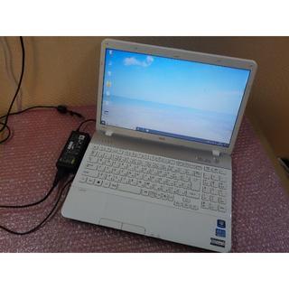 エヌイーシー(NEC)のNEC白 Windows10 64bit i5 500GB 8GB office(ノートPC)