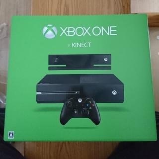 エックスボックス(Xbox)の年始特価!美品 xbox one + kinect + 2ソフト(家庭用ゲーム本体)