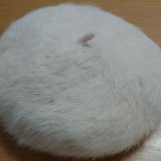 コムサイズム(COMME CA ISM)のCOMME CA  ISM アンゴラベレー帽(ハンチング/ベレー帽)