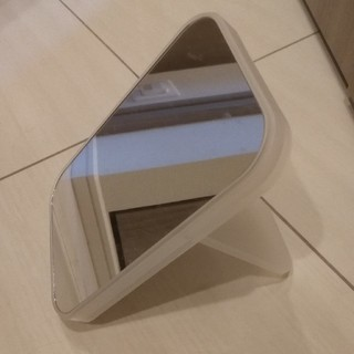 ムジルシリョウヒン(MUJI (無印良品))の無印良品 ポリプロピレンメイクトレーミラー(ミラー)