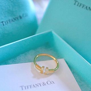 ティファニー(Tiffany & Co.)のTiffany Tワイヤーリング ティファニー(リング(指輪))