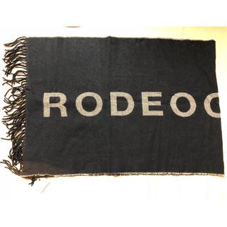ロデオクラウンズワイドボウル(RODEO CROWNS WIDE BOWL)のRODEOCROWNSノベルティー(ストール/パシュミナ)
