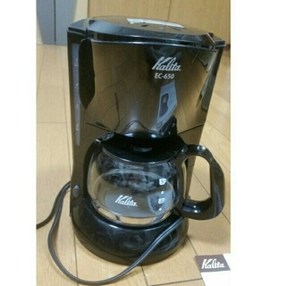 カリタ(CARITA)のカリタのコーヒーメーカー EC-650(コーヒーメーカー)